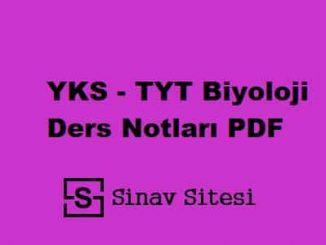 YKS - TYT Felsefe Ders Notları PDF